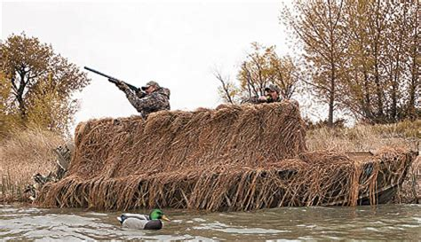 duck hunting boat blind material top boat blinds for waterfowl hunters wildfowl