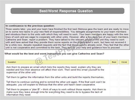 management situational judgment test prep jobtestprep