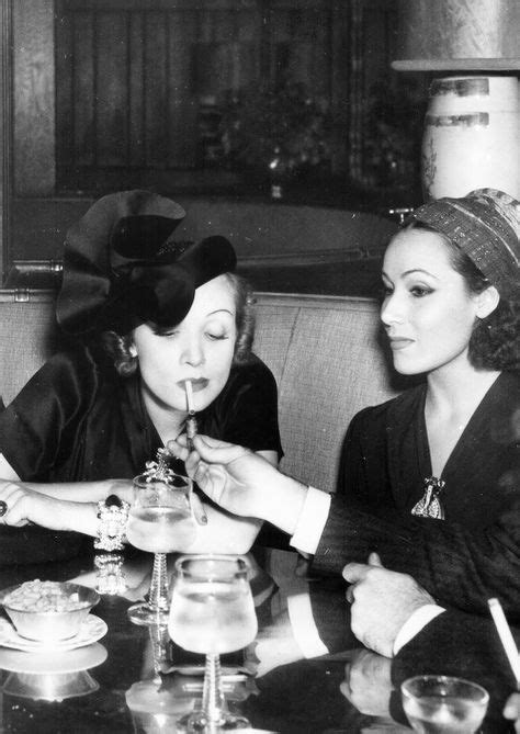 Marlene Dietrich and Dolores Del Río, 1939   Hollywood
