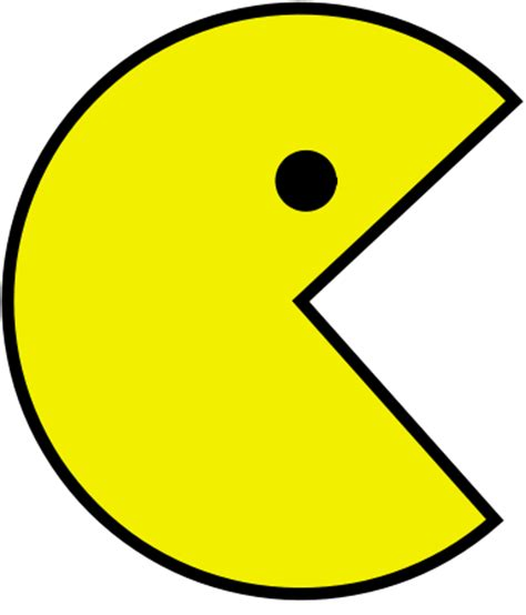 of pacman file pac svg