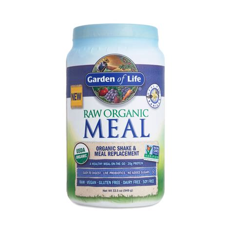 Garden Of Organic Meal by Vanilla Organic Meal Replacement Shake Thrive Market