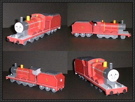 themed locomotive and a free vehicle paper