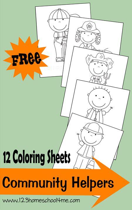 coloring pages community helpers preschool community helpers crafts memes