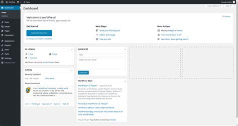 tutorial wordpress dashboard how to login to wordpress dashboard