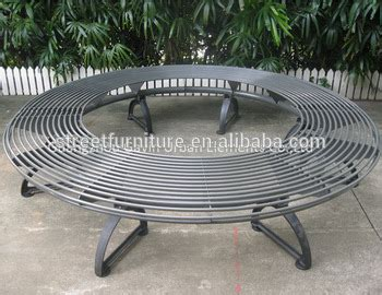 metal circular tree bench backless metal cast iron tree bench buy tree bench