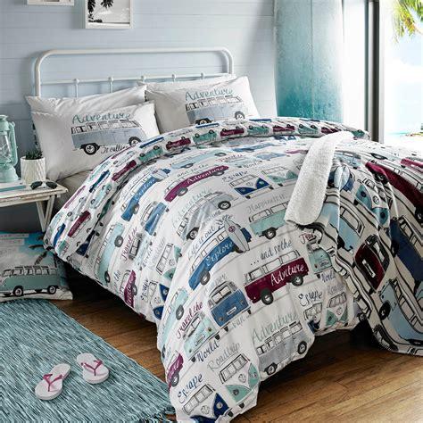 retro comforter sets vw volkswagen cervan duvet cover sets retro car bedding