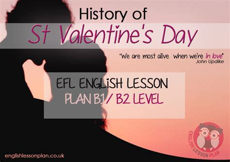 Whats Your Val Day Plan by Intermediate B1 B2 Lesson Plan With For