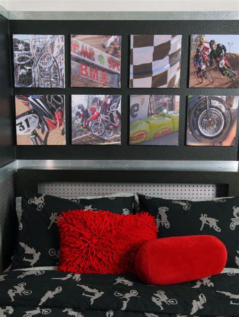 dirt bike bedroom accessories industrial edgy teen bedroom industrial kids