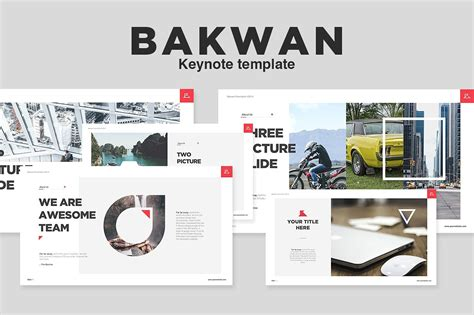 Bakwan Keynote Template Template Train Keynote Template Design