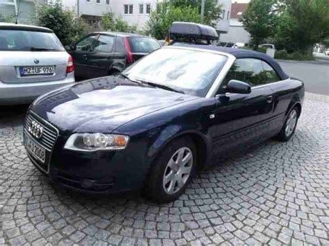 Standheizung Audi A4 by Audi A4 Cabrio Lpg Gas Ahk Standheizung Tolle Angebote