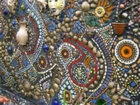 ideas mosaic wall: mosaic garden wall mosaic outdoors pinterest mosaics feature