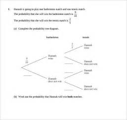Tree Diagram Template by Sle Tree Diagram 12 Documents In Word Pdf