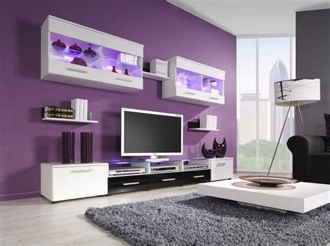 Plum living room ideas