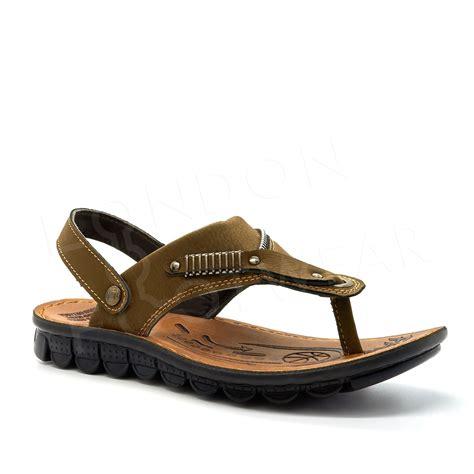 most comfortable mens flip flops for walking new mens comfort summer walking sandals slip on mules flip