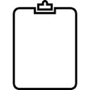 clipboard outline icons free download