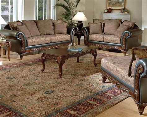 traditional loveseats traditional sofa set fairfax by acme furniture ac50335set