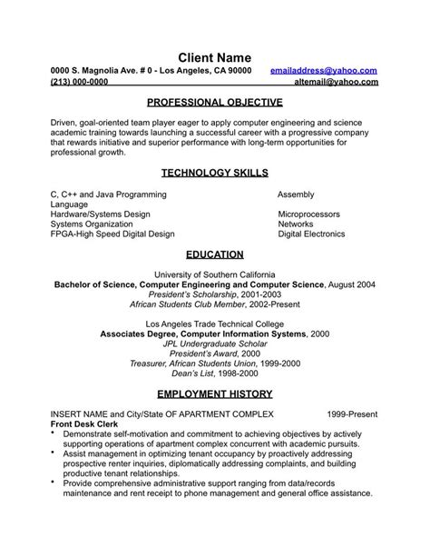 secondary resume 28 images resume resume for teachers exle 28 images teachers resume
