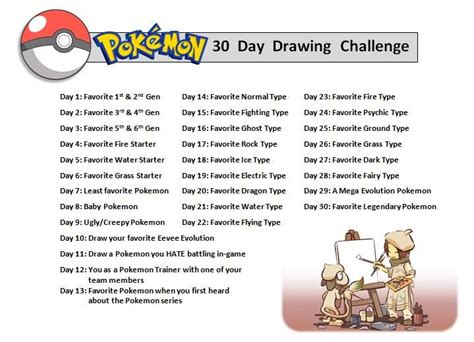 1 Drawing A Day Challenge by 30 Day Drawing Challenge By Orangecreamswirl