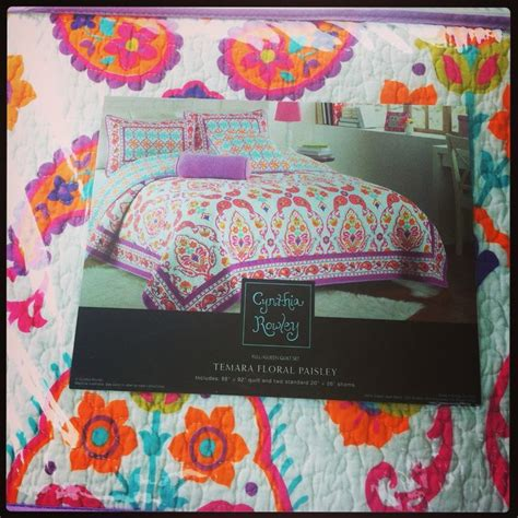 tj max comforters cynthia rowley bedding found at tj maxx for a bargain