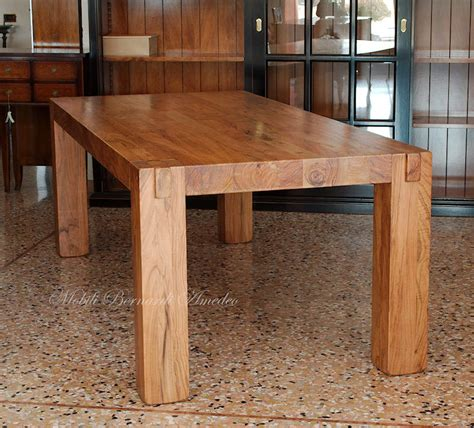tavoli legno moderni tavoli e tavolini in ulivo massello tavoli