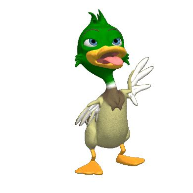 Funny Duck Gif Dance Duck Funny Gif Pinterest Gifs 3d Animated Clipart