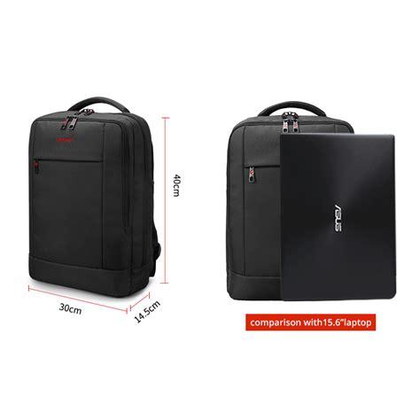 tigernu tas ransel laptop bisnis dengan usb charger port