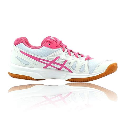 Sepatu Asics Gel Upcourt asics gel upcourt womens white badminton squash indoor