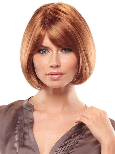 highlights with blonde and dark on chin length hair 33 best wigs images on pinterest short bobs hair cut