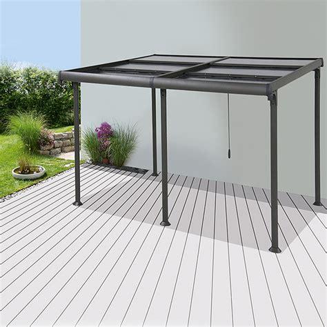 pavillon bauhaus sunfun pavillon sera 4 x 3 m lichtschutzfaktor 50