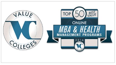 Top Healthcare Mba by Healthcarenowradio Top 50 Best Value Mba And