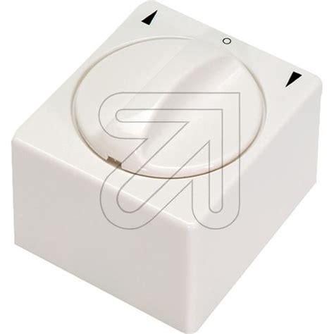 jaloezie schakelaar jaloezieschakelaar opbouw zuiver wit 120315 9 50 incl