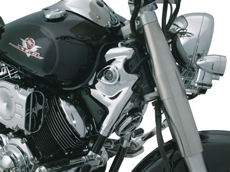 where to buy motorcycle neck cover frame covers trims accents kuryakyn