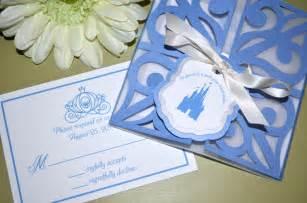 tale wedding invitations cinderella gate fold