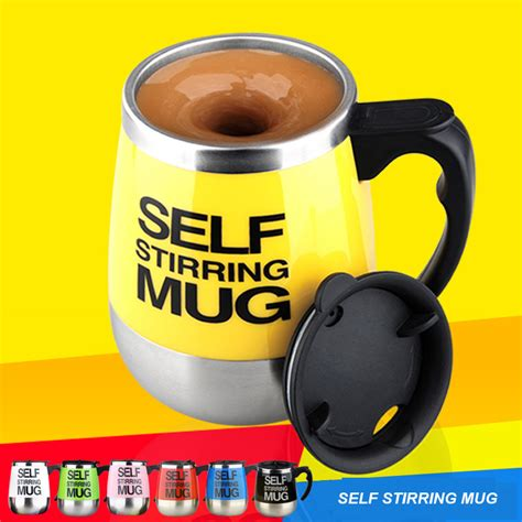 Automatic Self Stirring Mug Steering Coffee Cup Gelas A Terjamin custom mugs and personalized mugs sale novelty 450ml self mixing cup automatic electric