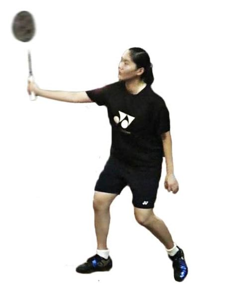 badminton swing technique badminton underarm backhand