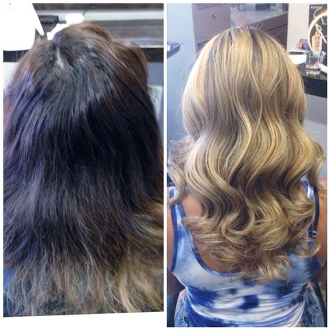 should wash hair before bayalage wash hair after balayage highlights before after