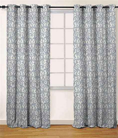 jacquard eyelet curtains oro decor jacquard eyelet curtain silver buy oro decor