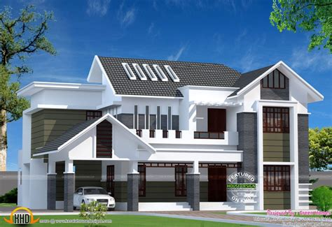 home design sq ft modern kerala home kerala home design