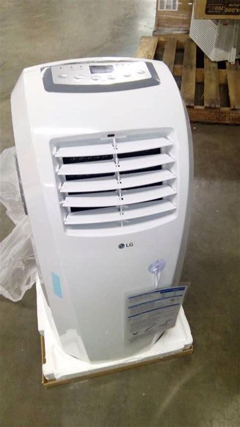 Ac Portable Electronic City lg electronics lp1015wnr portable air conditioner w dehumidifier function remote 10000 btu