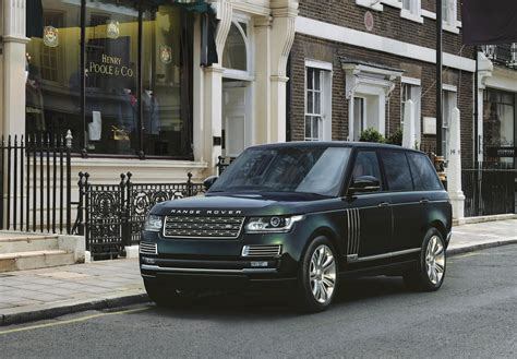 who builds range rover land rover svo builds an ultra luxurious range rover with