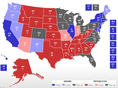 map of swing states the bi swing state guide business insider