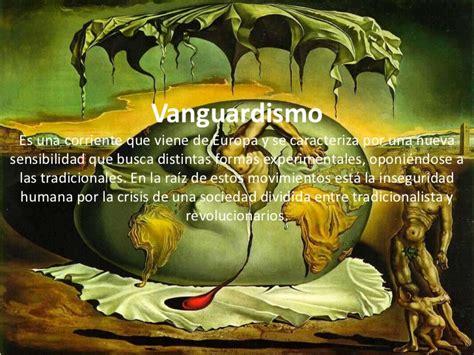 imagenes artisticas y su significado vanguardismo