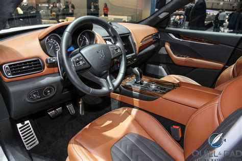 maserati truck interior maserati levante a suv roars in the