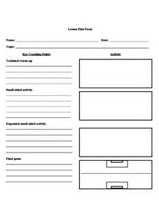 soccer lesson plan form free download