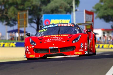 Ferrari Qualifying by Ferrari Pips Bmw In Bathurst 12h Qualifying Speedcafe