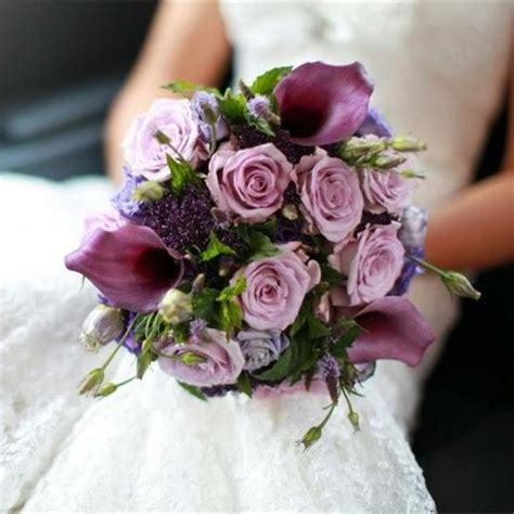 Wedding Flowers Purple by Inspiration Gallery For Purple Wedding Flowers Hitched Co Uk