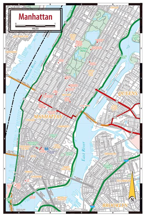 map manhattan streets manhattan streets map streets map of manhattan vidiani