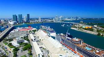 Miami Cruise Port Rental Car by Port Miami Parking For Cruises South Florida Cruising