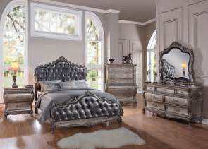 Bedroom Furniture Set Chantelle 5 Pc Rococo Bedroom Set Bedroom Sets Af 20540q Set 8