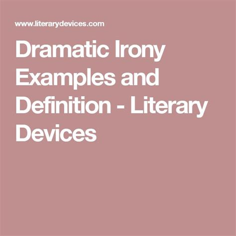 theme definition literary devices dramatic essay meaning
